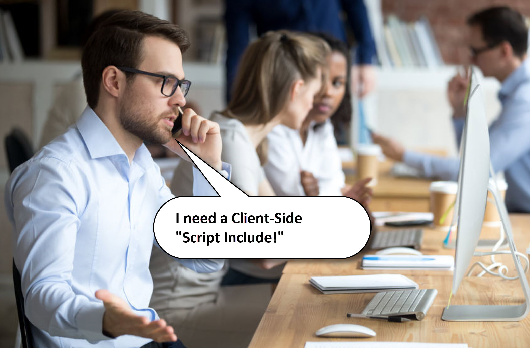 ServiceNow Client-Side Script Include